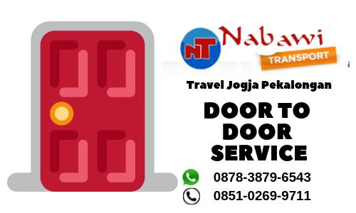 travel jogja pekalongan door to door service