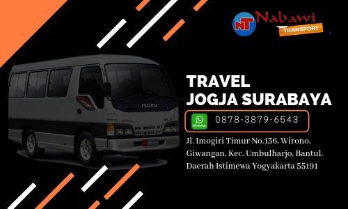 travel jogja surabaya murah