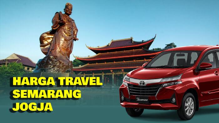 Harga Travel Semarang Jogja